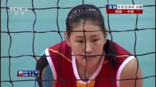 《2014女排亚洲杯》决赛 中国vs韩国 03