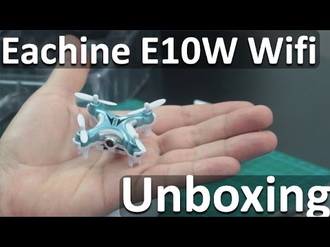 Drone Eachine E10W en Español - Mejor Mini Drones Con Camara Hd Wifi