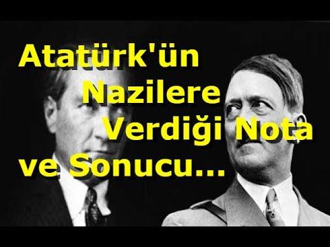 Atatürk ün Nazilere Verdiği Nota