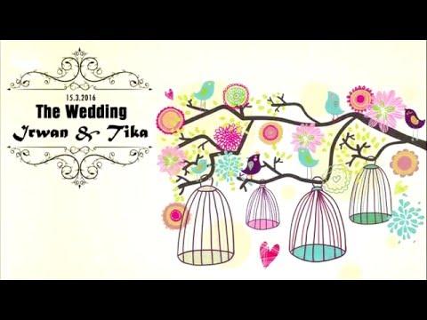 Video Undangan Pernikahan Irwan &  Tika - Pekalongan 15/3/2016