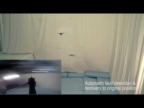 Watch This Intelligent Quadcopter Recover After Losing A Prop In Flight