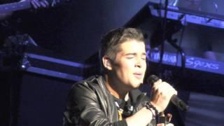 Joe McElderry  -  Superman - St  David's Hall - Cardiff - 14.11.2011