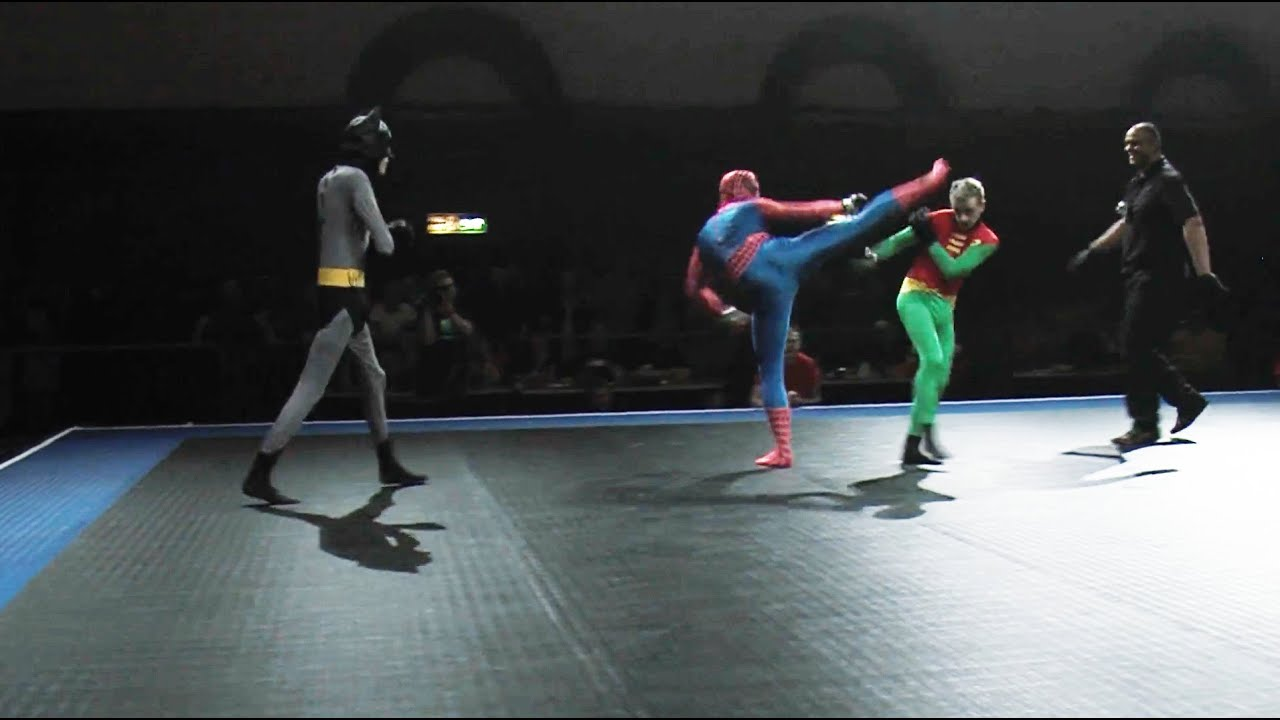 Would Batman Win An MMA Fight Against Spider-Man?