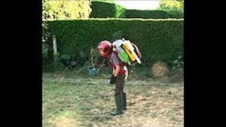 Kid Trys To Use Homemade Jetpack... And It Actually Works...