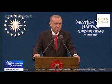 La Turquie boycotte les produits français - Manifestations dans les pays à major La Turquie boycotte les produits français - Manifestations dans les pays à major