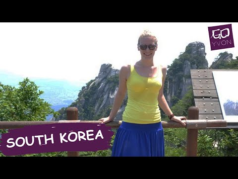 Climbing BUKHANSAN NATIONAL PARK, Seoul