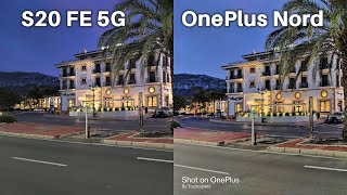 Samsung Galaxy S20 FE 5G vs OnePlus Nord - This WILL SURPRISE You! €399 Vs €699 Camera Comparison