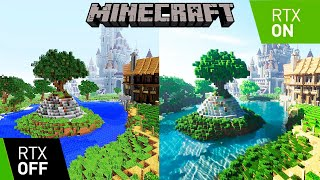 Minecraft – Low vs. Ultra Graphics Comparison [FullHD][60fps]