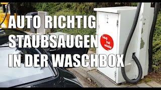 83metoo Auto richtig staubsaugen in der SB Waschbox