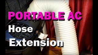 How to Extend Exhaust Hose of Portable Air Conditioner AC