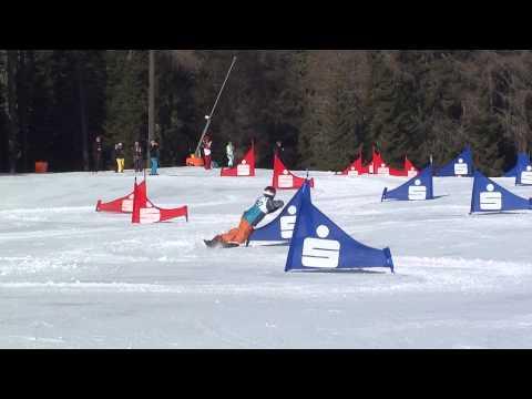 Alpin Snowboard Rennen Fabian Obmann