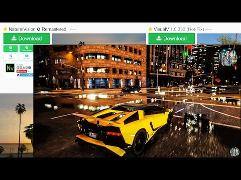 How to download and install Advance Level Graphics Mod in GTA 5