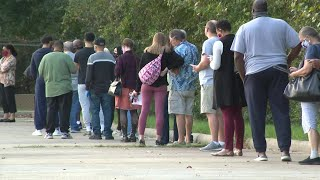 Early voting record in Harris County