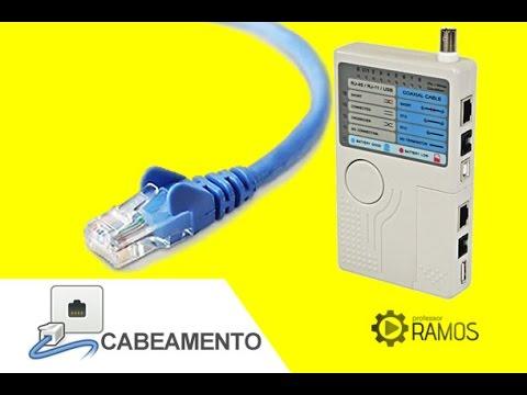 Testador De Cabos Rede Lan Rj45 Rj11 Bnc - Mt 200 - LanTester - http://professorramos.com