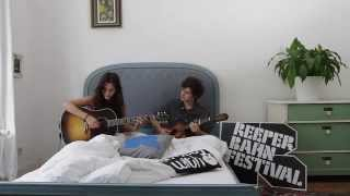 Anna F. - Too Far - acoustic for In Bed with at Reeperbahn Festival 2014