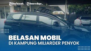 Terungkap Fakta Unik di Kampung Milarder Tuban, Belasan Mobil Penyok Kecelakaan