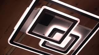 Видео о 8698/500 - CV WH+Coff люстра