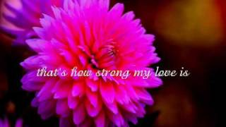 Alicia Keys - That's How Strong My Love Is (lyrics)