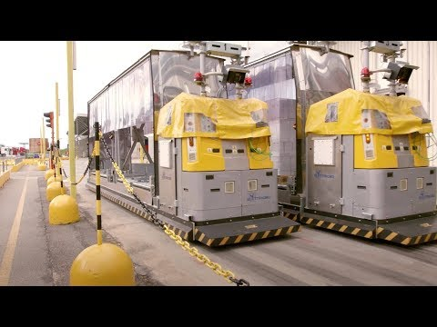 Efficient anti-collision system for AGVs of Elettric80 [Application in food industry]