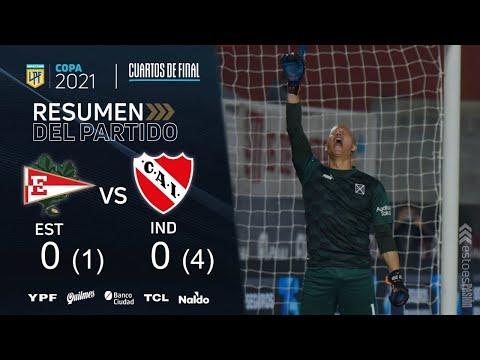 Independiente semifinalista de la Copa de la Liga: eliminó por penales a Estudiantes en La Plata