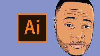 HOW TO MAKE A CARTOON | TUTORIAL! - Step By Step ( ADOBE ILLUSTRATOR )