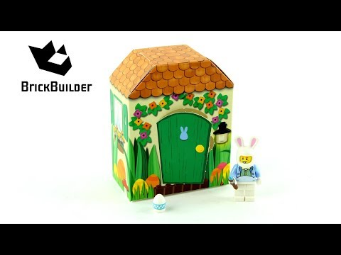 Vidéo LEGO Saisonnier 5005249 : Clapier du lapin de Pâques LEGO