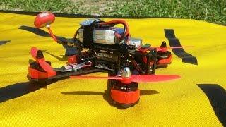 Гоночный квадрокоптер Kingkong 210 (FPV Racer Quad) ... Очень весело без буззера искать