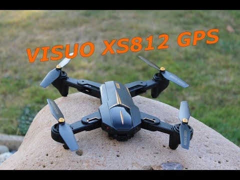 Visuo XS812 review test