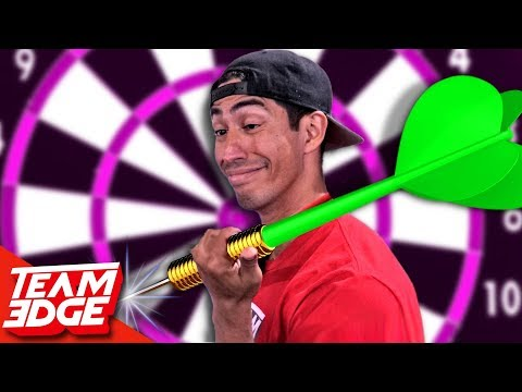 GIANT Darts Challenge!!