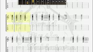 Deep Purple   The Spanish Archer GUITAR 2 TAB