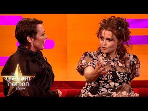 Helena Bonham Carter o roli princezny Margaret a lady Anne Glenconner o líbánkách - The Graham Norton Show