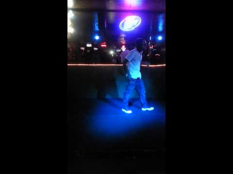 Eweez Purp Hayze performance at boomers bar LV