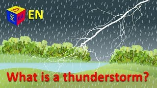 What is thunderstorm? Why questions, science and home experiments for kids