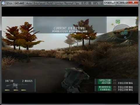 PCSX2 Socom 2 - смотреть онлайн на Hah Life