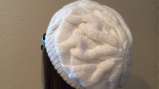 How To Knit A Cable Hat - Quick & Easy