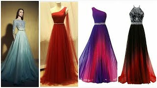 Stylish Back Long Evening Gown #prom Long Dresses