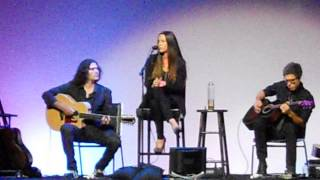 "Alanis Morisette Live singing ""Thank You"" Oct 2013 Marianne Williamson Event"