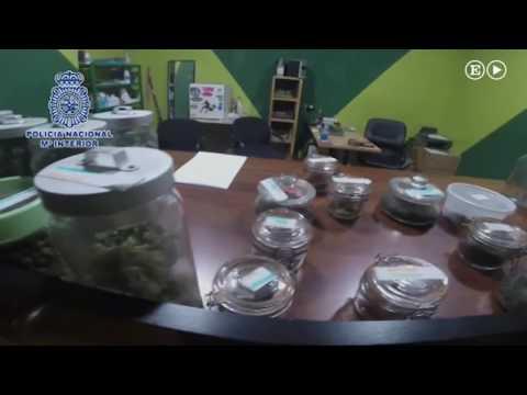 La policía desmantela dos clubes de cannabis en Madrid | España