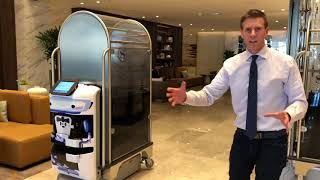 "(Video) ""Robots Take Over Luggage Duties for Guests at Sheraton Hotel"""