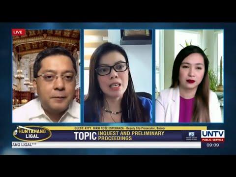 [UNTV]  UNTV: Huntahang Ligal | October 15, 2020 – LIVE REPLAY