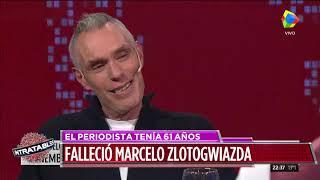 Murió Marcelo Zlotogwiazda: así se lo recordó en #Intratables