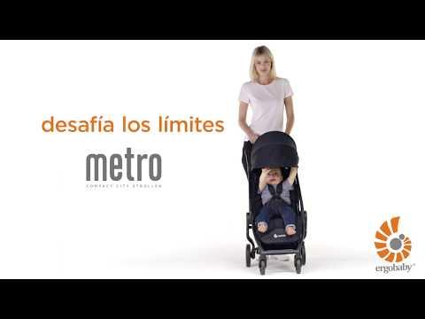 Ergobaby Cochecito compacto Metro gris