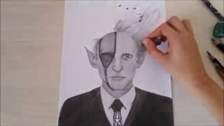 Devil Costume Painting (Halloween Edition) - TimeLaps