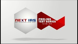 Prelims Test Series for UPSC 2019