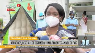 Ministra da Saúde confirma operacionalidade dos hospitais de Luanda