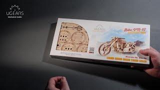 """Модель """"Байк VM-02"""" Складання"""