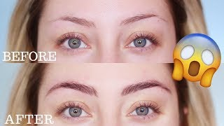 HOW TO TINT YOUR EYEBROWS   Glamnanne