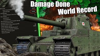 WoT || Damage Done World Record?! || 70.686 DMG Done In One Game