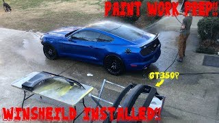 Rebuilding A Wrecked SUPERCHARGED Mustang GT 5.0 [part 9]