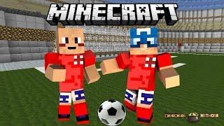 Minecraft - Football/Soccer Mini Game - ChooChoosNETWORK